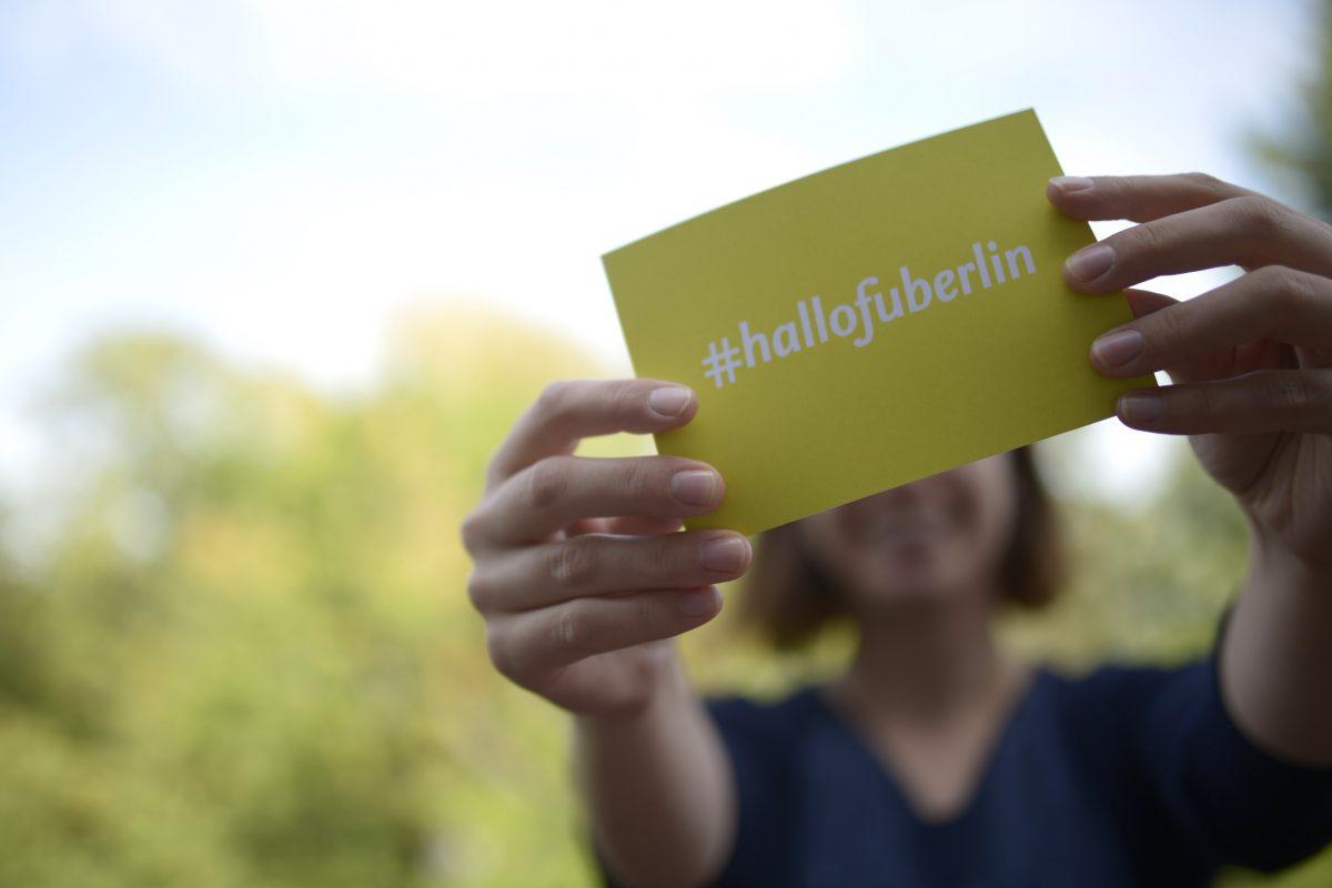 #hallofuberlin – Der offizielle Uni-Hashtag!