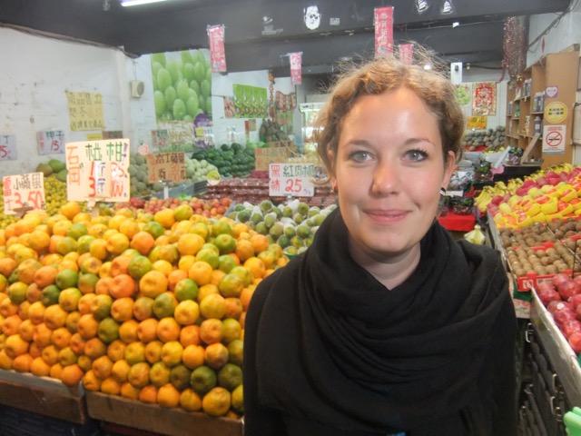 Fremde Küchen und Kulturen entdecken: Nora verbrachte ein Semester in Taipeh. Foto: Privat