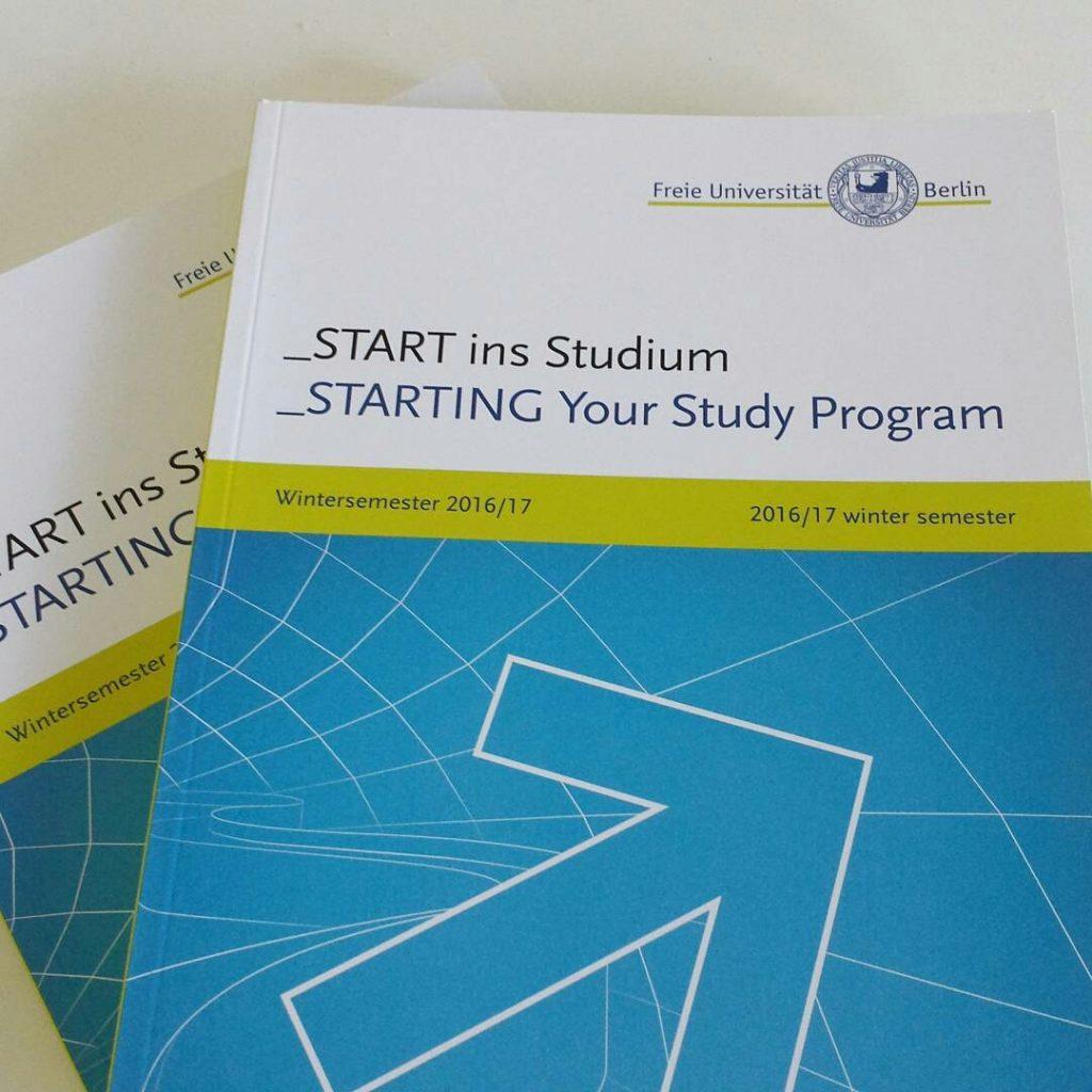 START - Die Broschüre zum Semesterbeginn