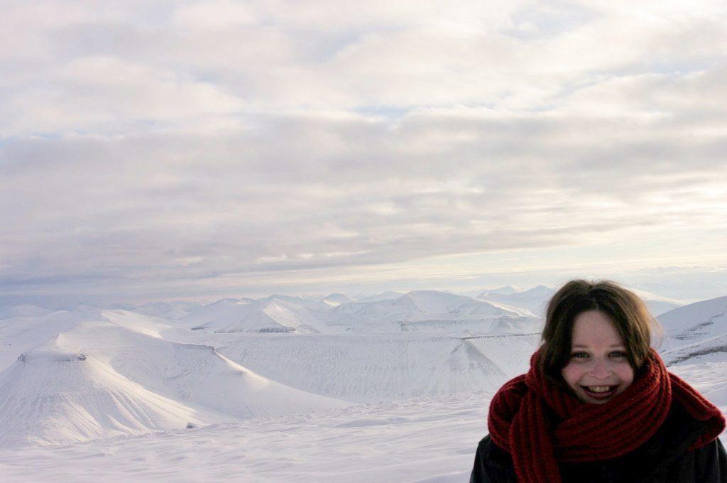Letztes Licht vor monatelanger Dunkelheit: Janna verbrachte ihr Auslandssemester in Spitzbergen, dem nördlichsten Punkt Europas. Foto: Privat