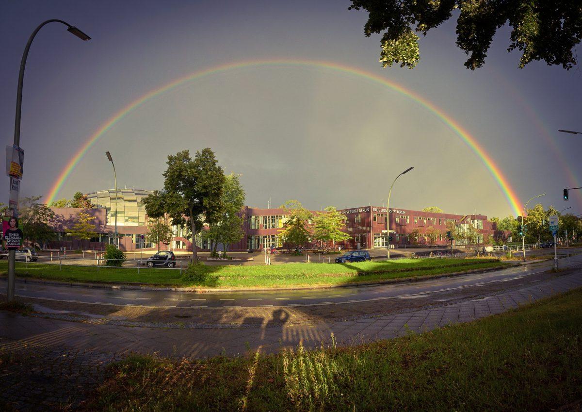 Am Ende des Regenbogens …