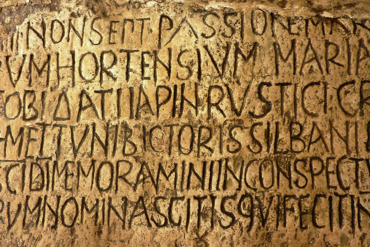 Wie wär's mit… Lateinischer Philologie?