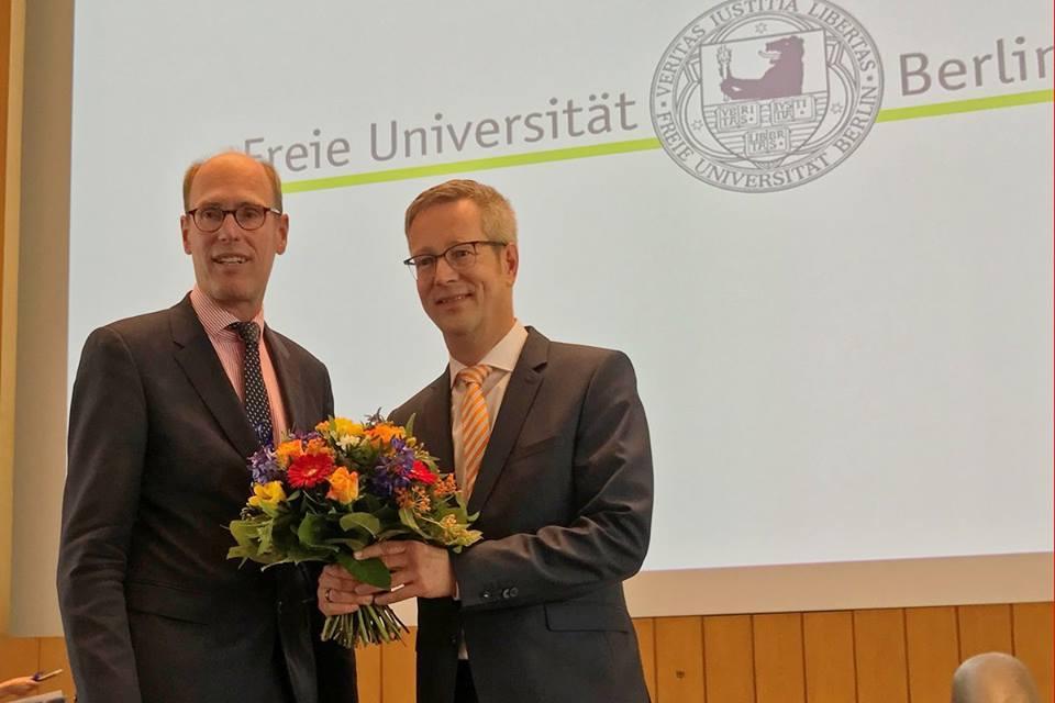 Der Mathematik-Professor Günter M. Ziegler wird neuer Präsident der Freien Universität Berlin