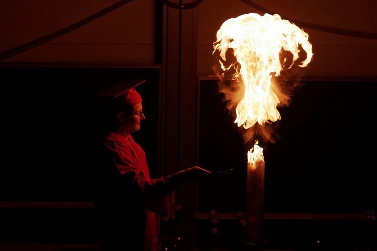 Chemie mit Show-Effekt