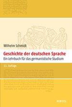 """Schmidts """"Geschichte de deutschen Sprache"""""""