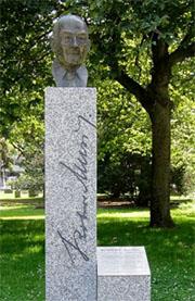 Denkmal für Musil in Genf