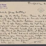 Postkarte Wendel