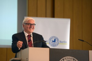 Bundesaußenminister Dr. Frank-Walter Steinmeier