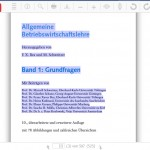 Kopier-Funktion der UTB-Online-Bibliothek
