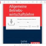 Kostenfreie Speicher-Funktion der UTB-Online-Bibliothek (nach Erstellung eines Benutzerkontos)