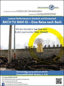 Plakat BACH YU RAM GI