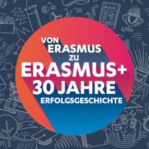 30 Jahre Erasmus+ Logo