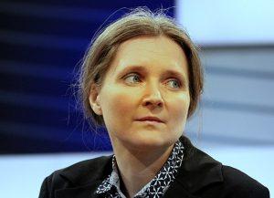 Marion Poschmann auf der Frankfurter Buchmesse 2017 (Quelle: Heike Huslage-Koch, Lizenz: CC-BY-SA-4.0)