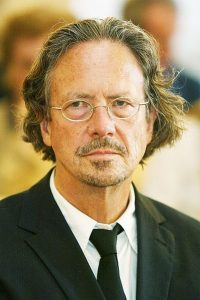 Peter Handke (2006), Bild: Wild + Team Agentur - UNI Salzburg, CC-BY-SA-3.0-migrated