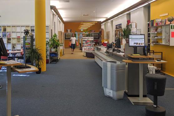 Zwei weitere Fachbibliotheken bieten Online-Buchung von Arbeitsplätzen an