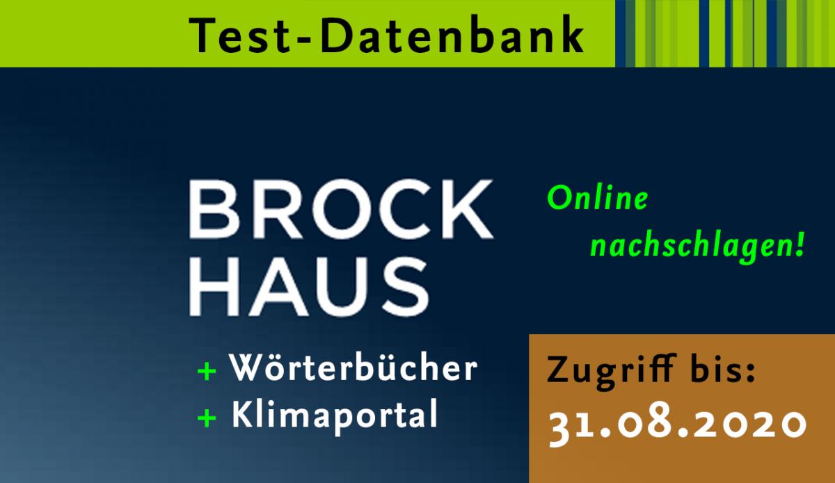 Testzugriff für Brockhaus