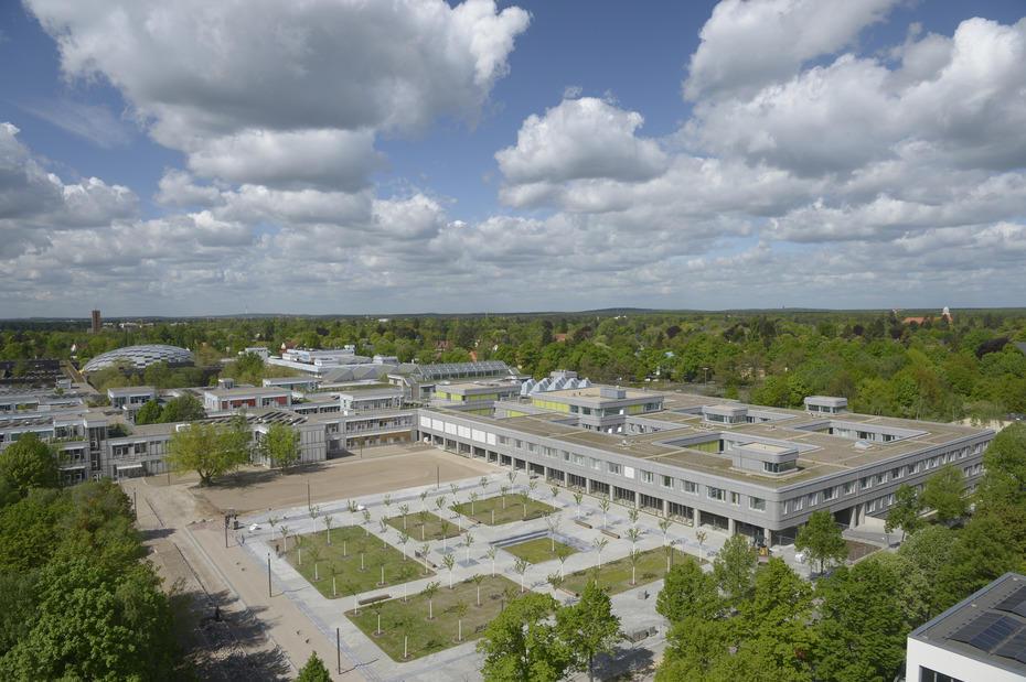 Campusbibliothek bietet wieder Arbeitsplätze an