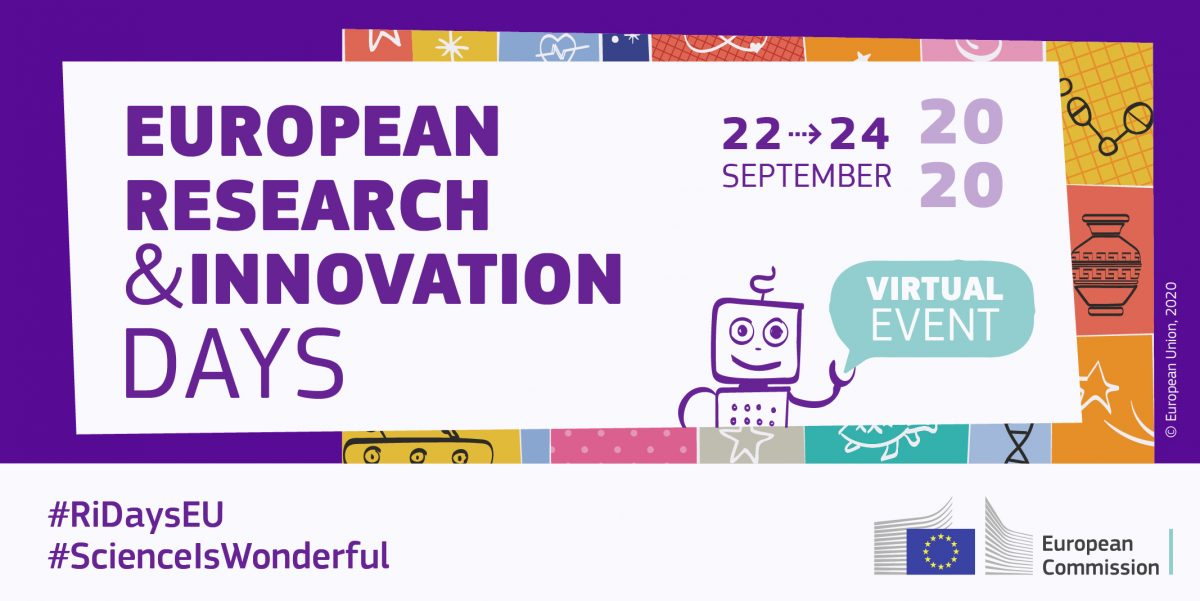 European Research and Innovation Days – 22. – 24.09.2020
