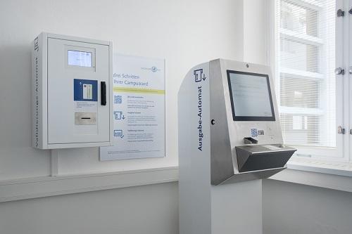 Automat zum Erstellen einer CampusCard wieder zugänglich