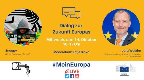 Livestream #Mein Europa: die DSGVO