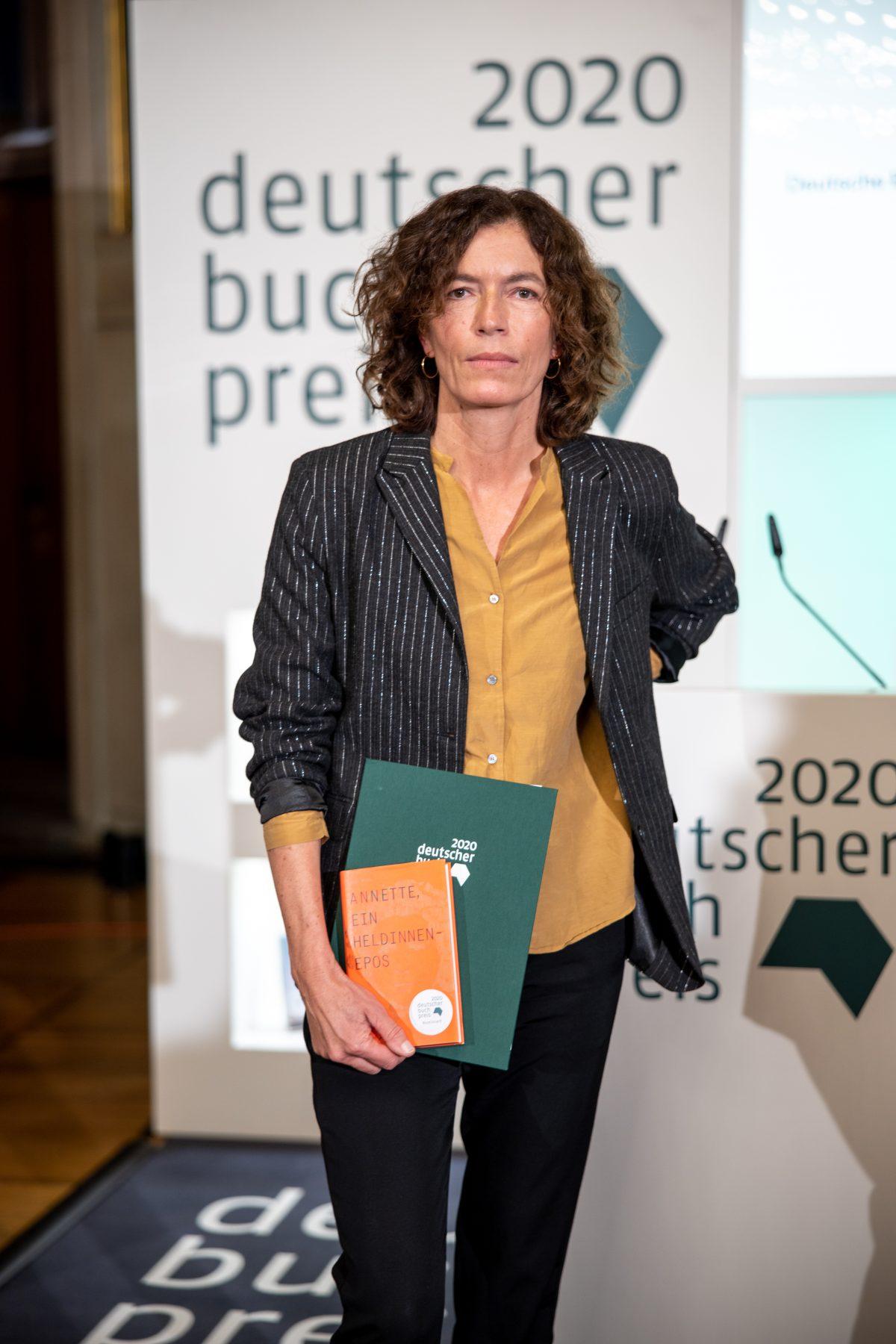 Deutscher Buchpreis 2020 an Anne Weber
