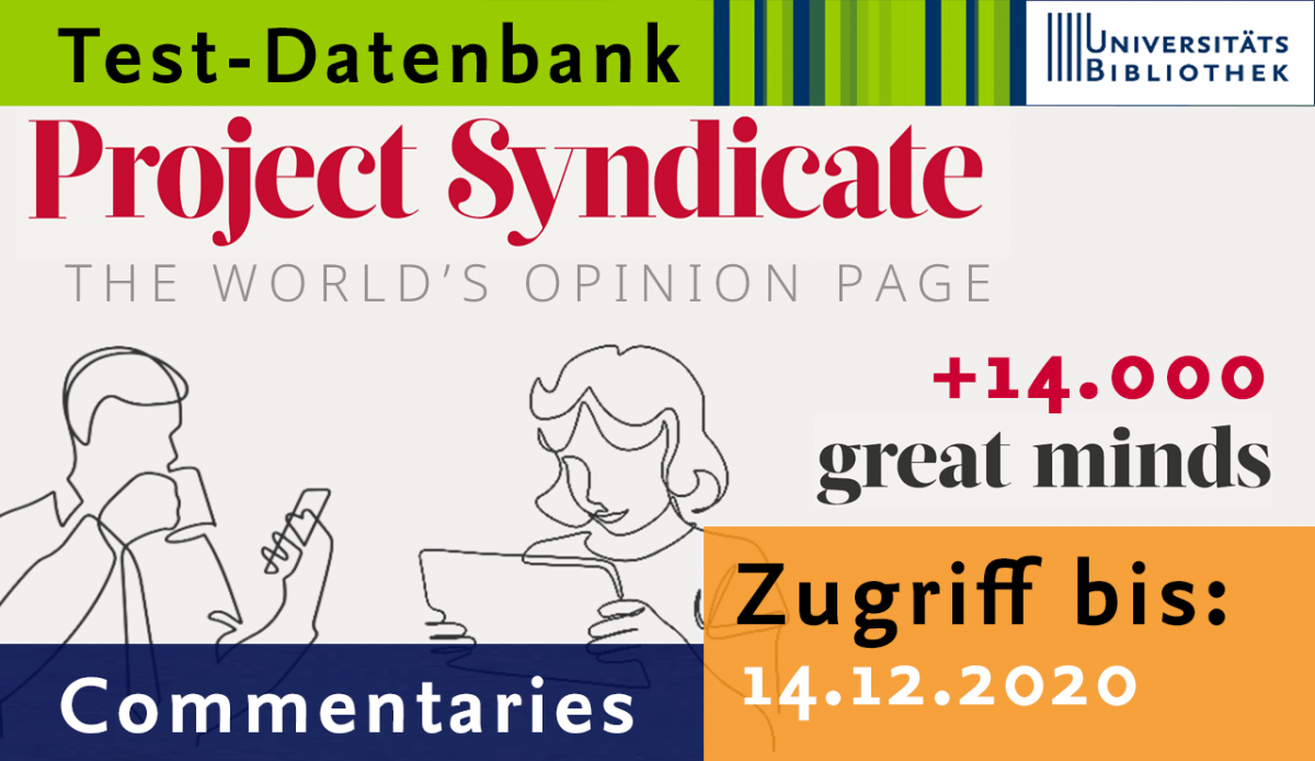 "Testzugang für Website ""Project Syndicate"""