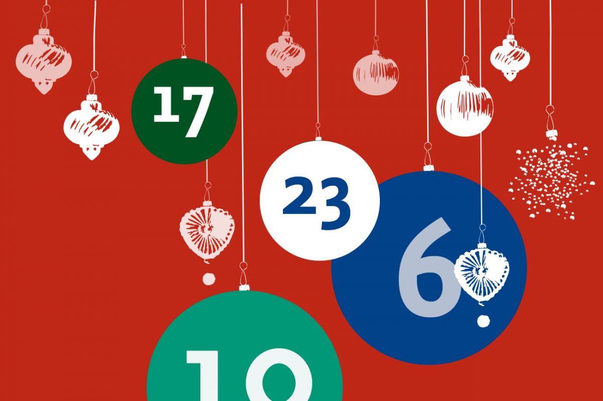 24 Türchen bis Weihnachten!