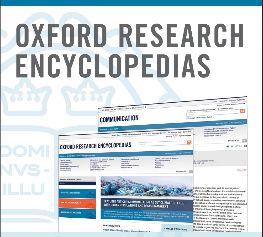 Online-Enzyklopädien für Politik- und Kommunikationswissenschaft lizenziert