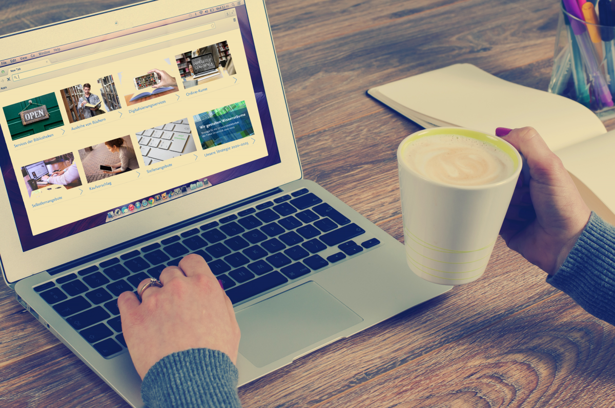 Universitätsbibliothek bietet ab sofort Online-Sprechstunde an
