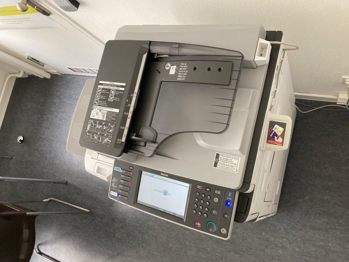 Scannen, Drucken und Kopieren in den Bibliotheken der Freien Universität