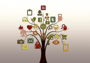 Social Media; Quelle: geralt, pixabay.com; CCO Public Domain