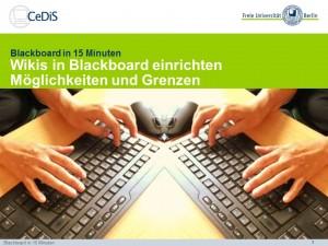 BB15Minuten_Wikis_in_Blackboard_Möglichkeiten_und_Grenzen