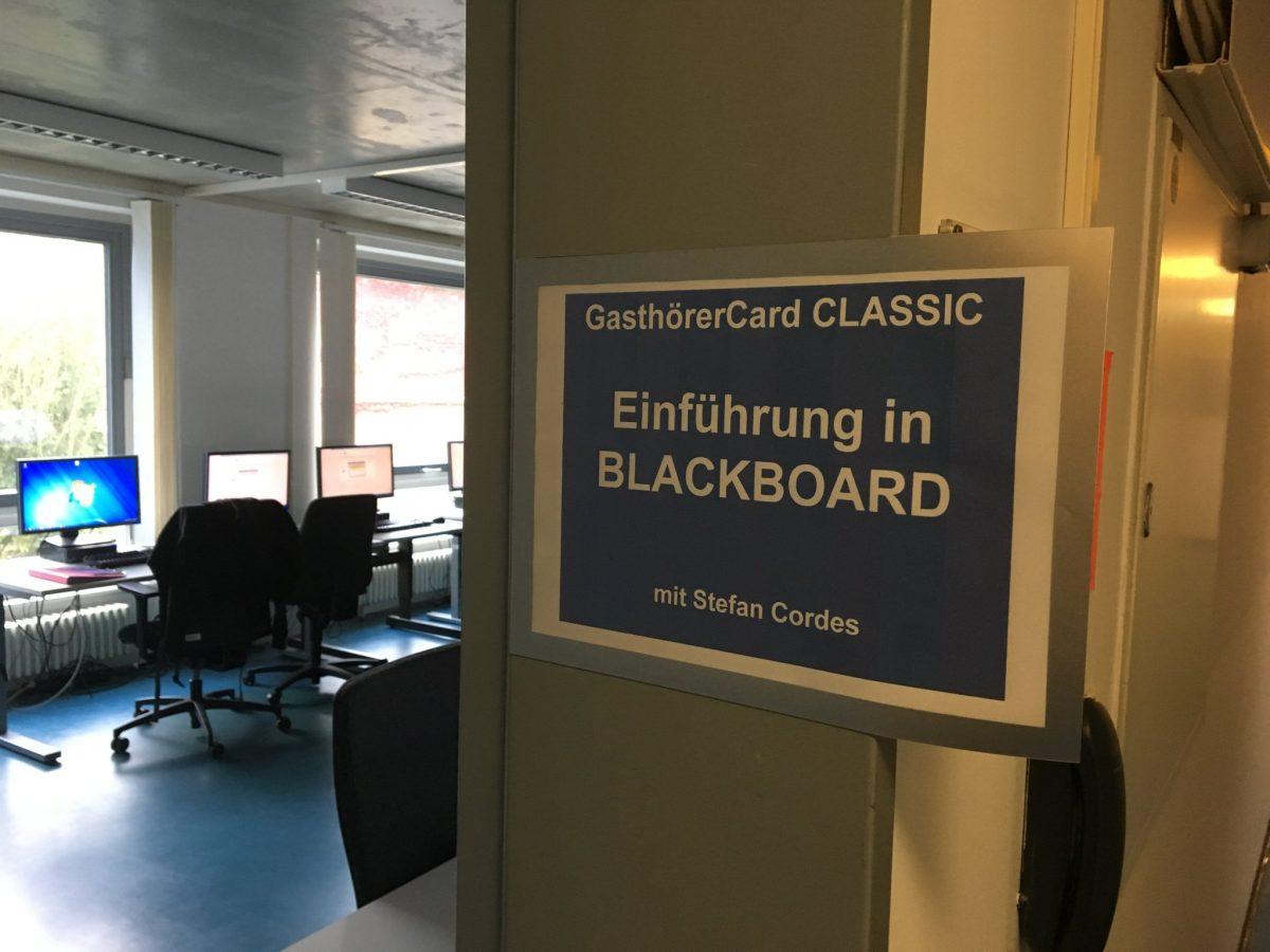 """Veranstaltung: Blackboard für """"Silver-Surfer""""!"""