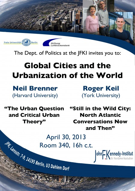 Global Cities and the Urbanization of the World