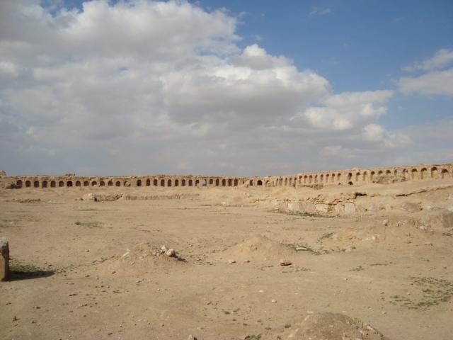 Resafa - Stadtmauer