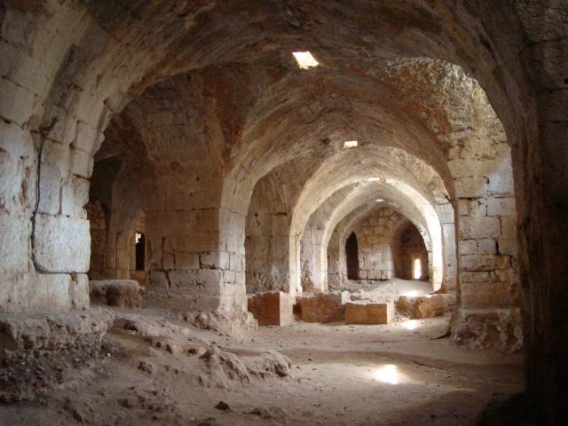 Pferdestall in Saladins Burg