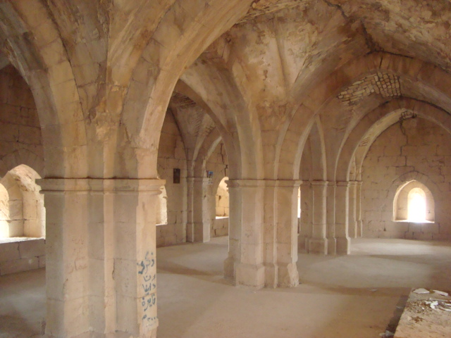 Donjon von Safita - sog. Rittersaal im 1. OG