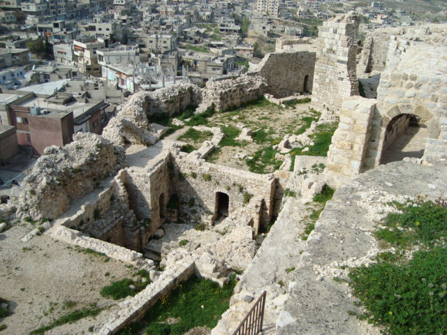 Masyaf - Blick ins Burginnere