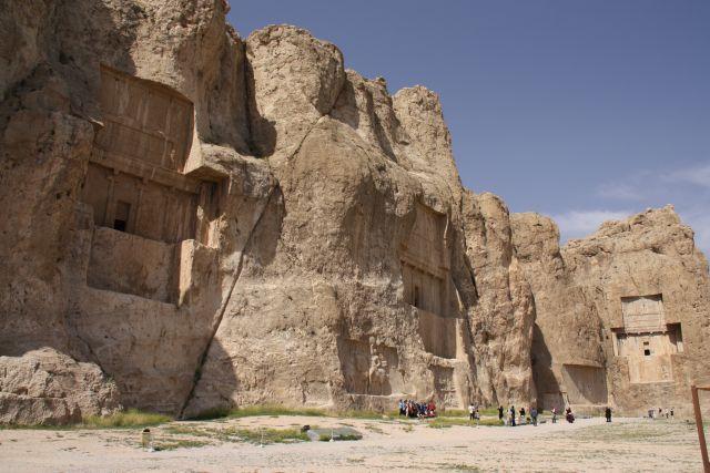 Achämenidengräber in Naqsh-e Rostam