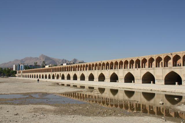 Brüche in Isfahan