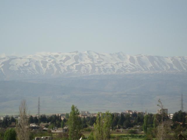 Libanon - schneebedeckte Gipfel