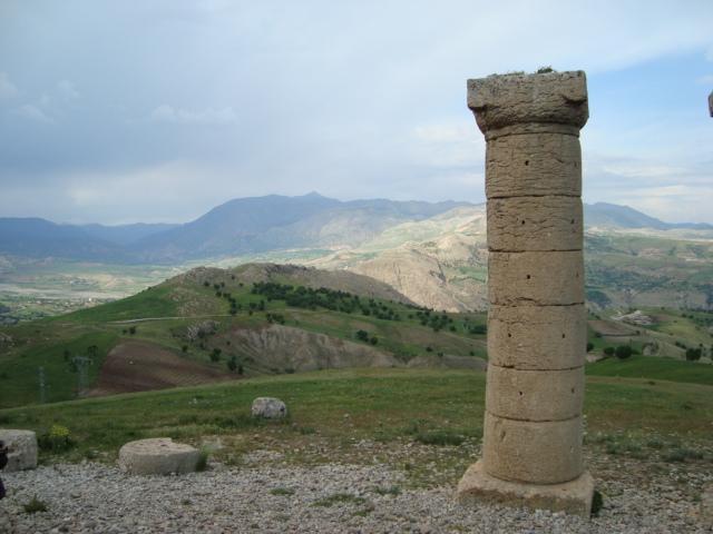 Blick vom Karakus richtung Nemrut Dagi