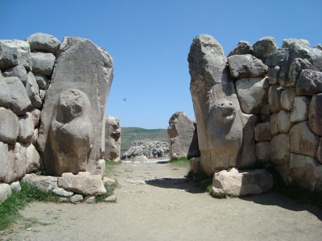 Hattuscha -eines der Tore in die Hauptstadt