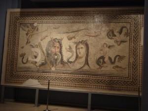 Mosaik aus Zeugma