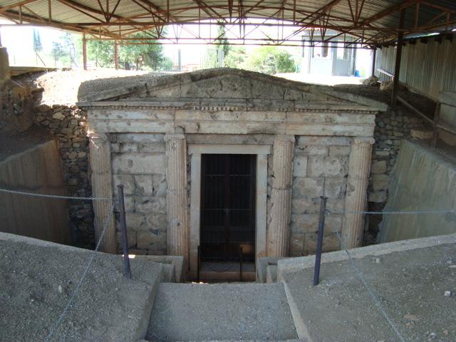 Vergina - Grabfassade aus dem 4. Jh. v. Chr.