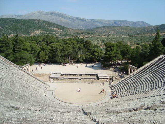 Epidauros - das Theater