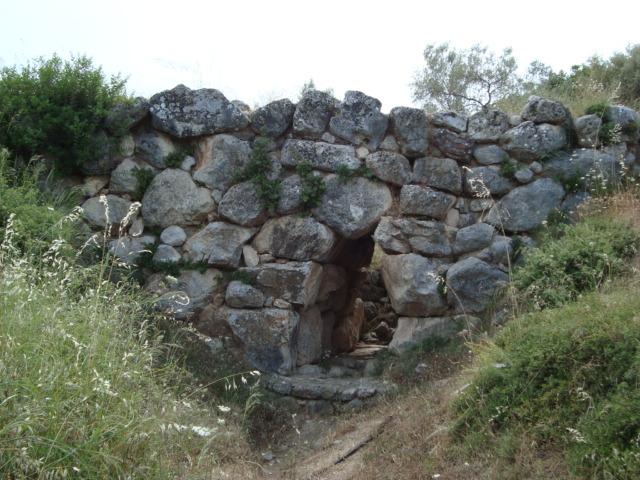 Mykenische Brücke - auf dem Weg nach Tiryns