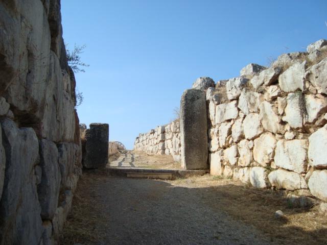 Die zyklopischen Mauern von Tiryns