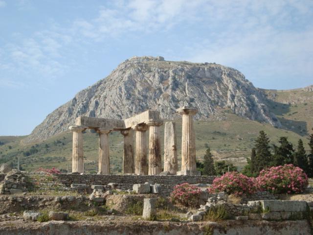 Korinth - Apollon Tempel