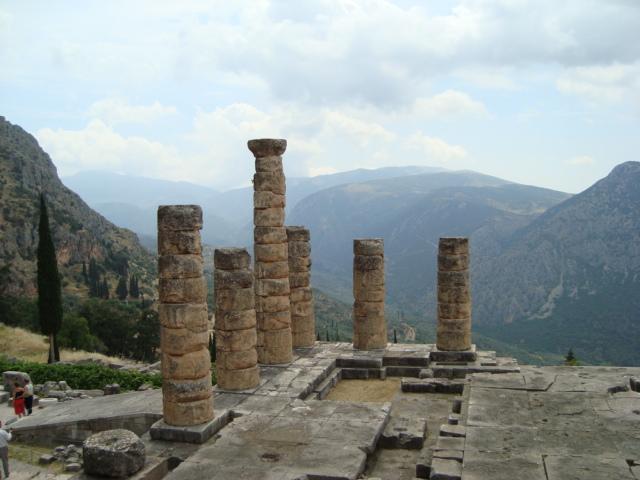 Delphi - Apollon Tempel
